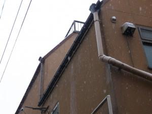 雨樋修理を行いました