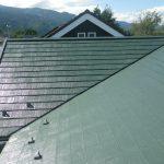 屋根塗装(モスグリーンS)