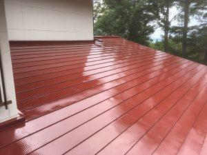 屋根材の保護の役割も