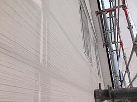 外壁カバー工事