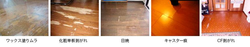 床の劣化判断基準