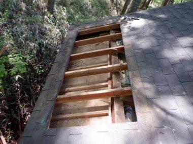 屋根板金カバー